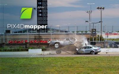 Pix4Dmapper for Collision Reconstruction
